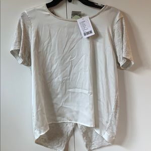 Anthropologie Short Sleeve top
